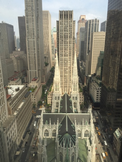 St. Patrick's Cathedral from Lotte New York Palace