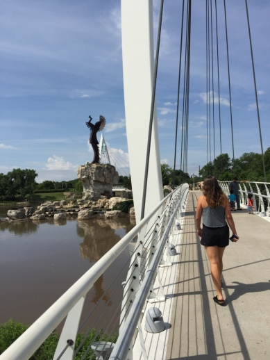 The Keeper of the Plains on the Riverwalk