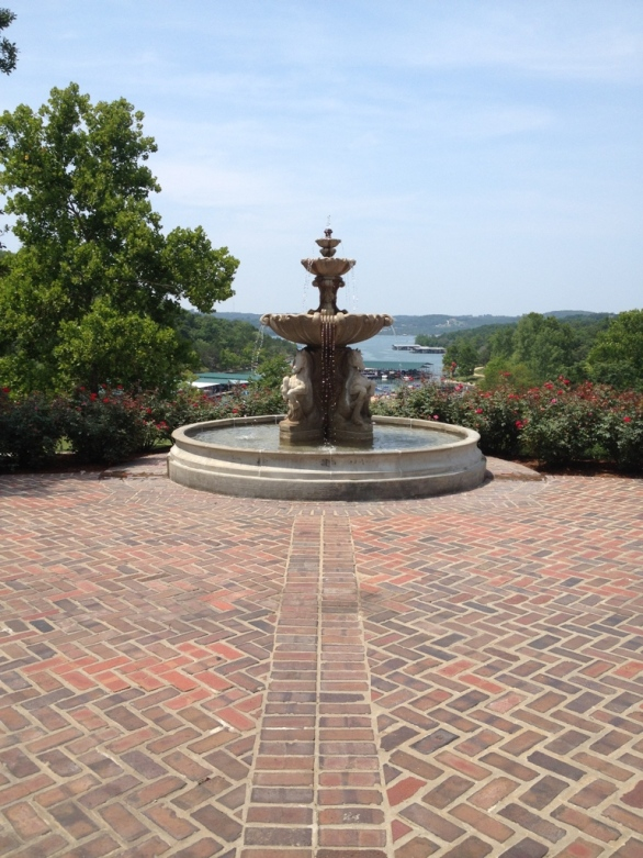 View of Table Rock Lake from Worman house