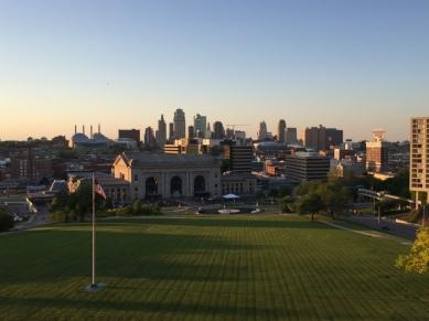 View from War Memorial
