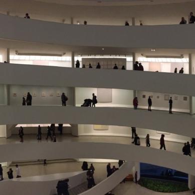 Guggenheim Museum by Frank Lloyd Wright