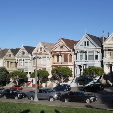 Painted Ladies Row Houses