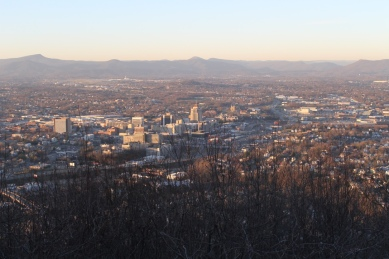 View from Roanoke Star