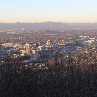 View from Roanoke Star
