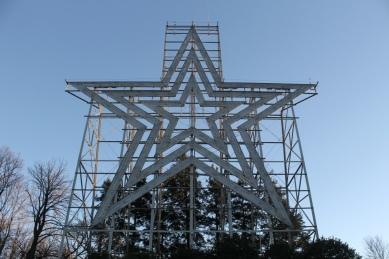 """Mill Mountain """"Roanoke"""" Star"""