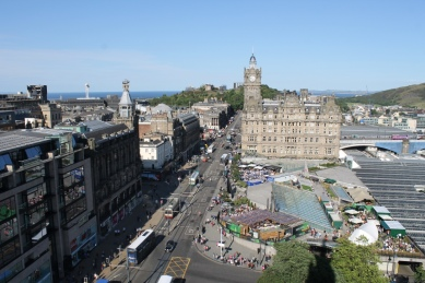 View from Scott Monument