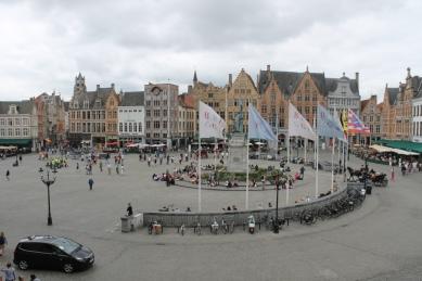 Bruges Market Place