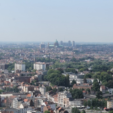 View from Atomium