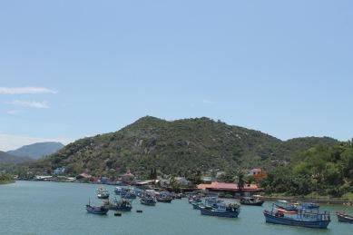 Views from Long Son Pagoda