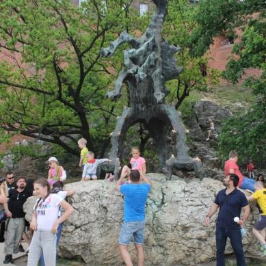 Smok Wawelski Dragon Statue