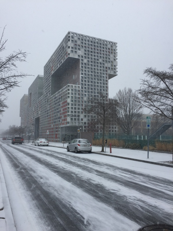 Simmons Hall at MIT / Steven Hol