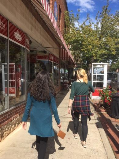 Walking around Brevard