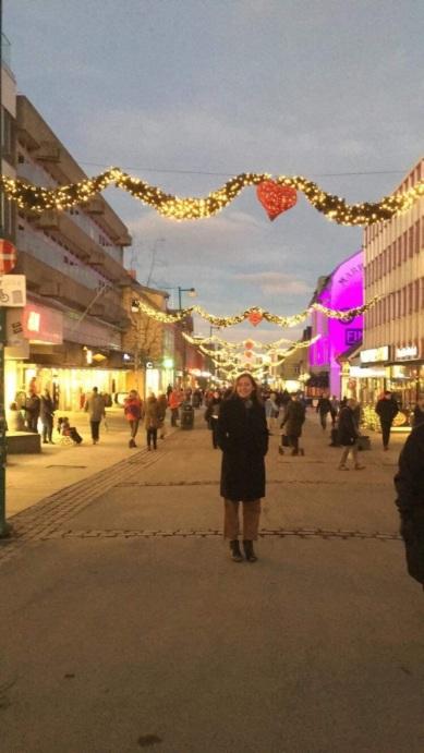Walking around Tromsø