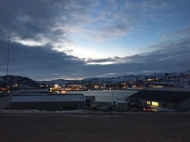 Walking around Båtsfjord