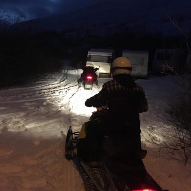 Snowmobile!